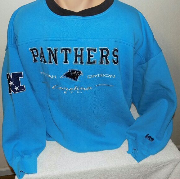 check out 4e19a 31dbb Carolina Panthers Crew Neck Sweatshirt. XXL